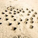 Poppit sandcastles